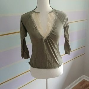 knit top Forever 21 sz S